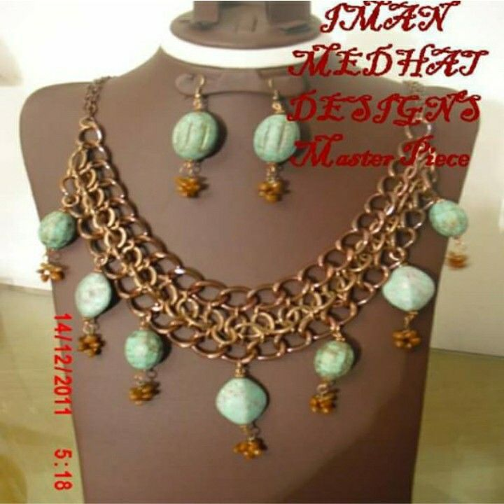 Inspired By Ancient Egyptian Style By Iman Medhat Jewelry Imanmedhat Jewelry Jewelrydesigner Handmadejewelry With Images Jewelry Handmade Jewelry Fashion Hub