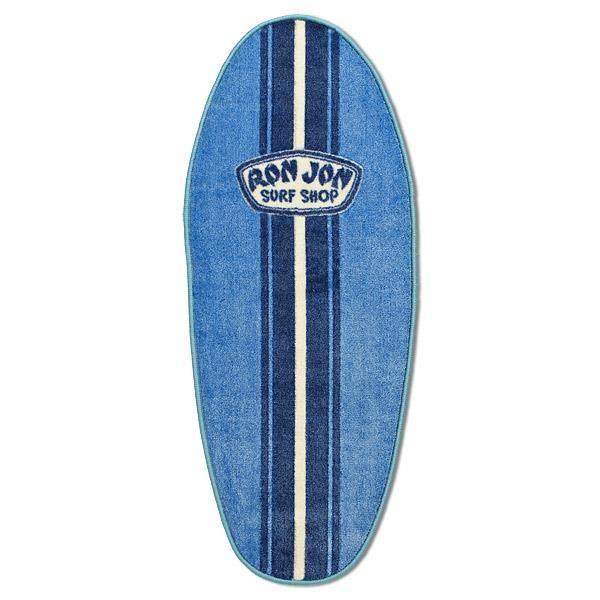 Ron Jon Washable Surfboard Rug Light Blue Royal