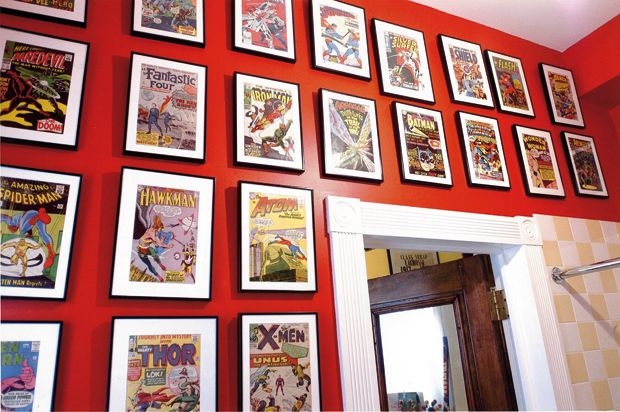 Comic book rooms. braxton and yancey  Comic Book Art   Rocket Fuel for Spank Me Home