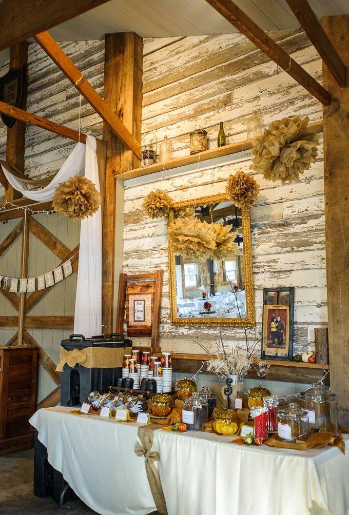 Rustic DIY Fall Wedding
