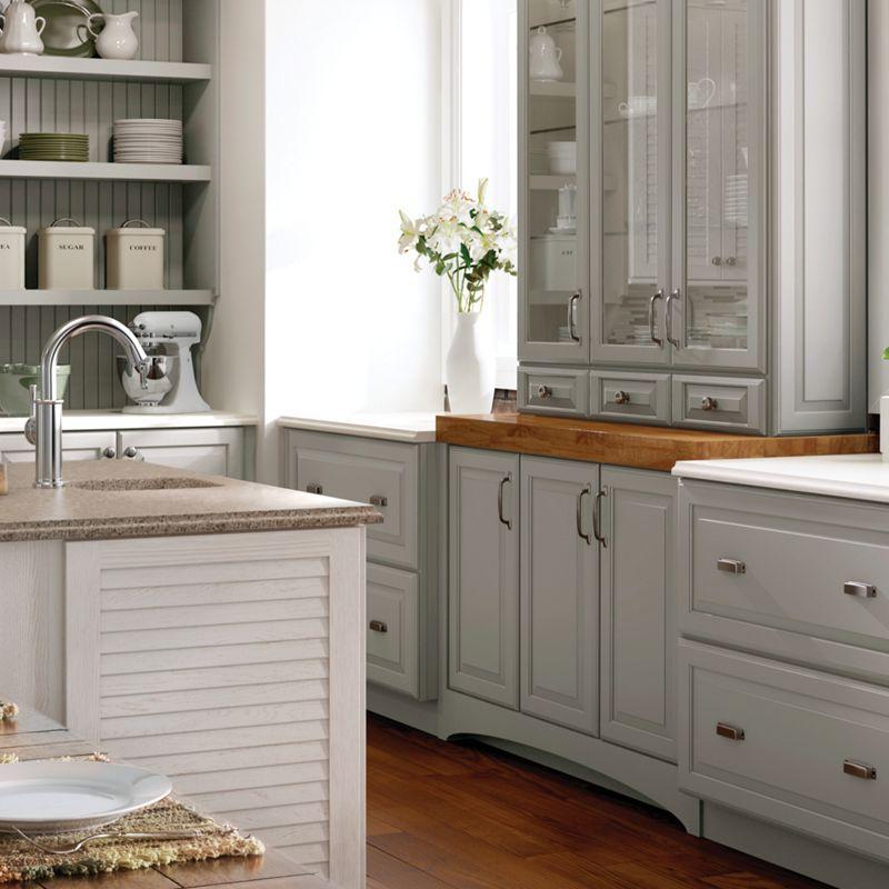 Coastal Bath Kitchen: Maple Castle Rock Coastal Cabinets - Google Search