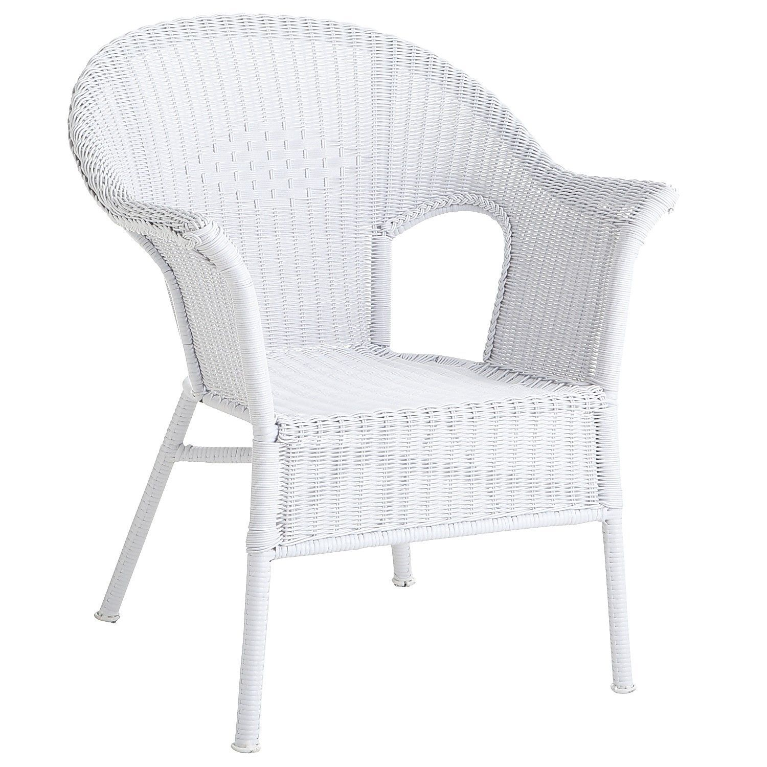 White Whicker Stacking Chairs At Pier One 90 Each Sale Price White Outdoor Furniture White Patio Furniture Outdoor Chairs White wicker chairs for sale