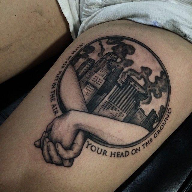 Fight club tattoo google search tatoos pinterest for Tattoo art club