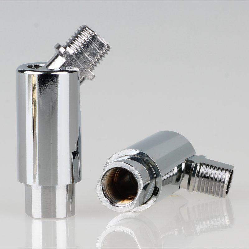 Topfband Scharnier 35745 für BOSCH Siemens Neff Kühlschrank messingfarben