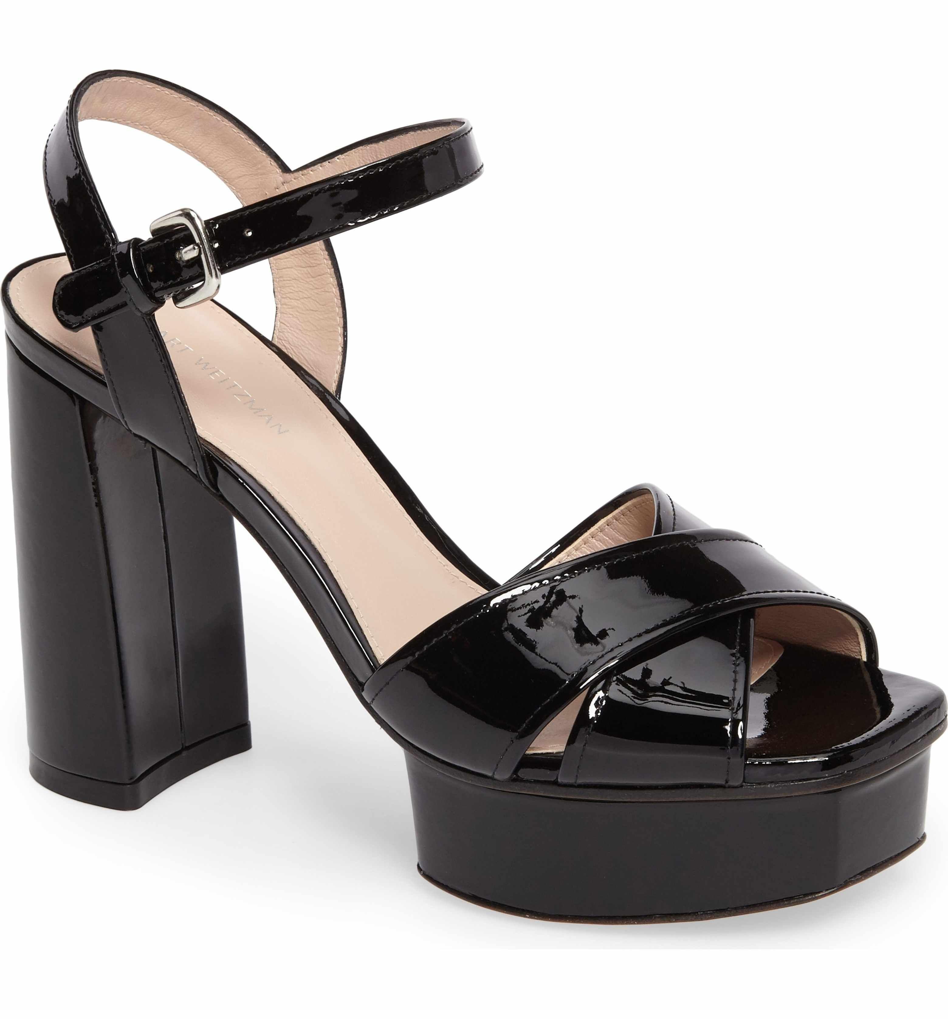 Exposed platform sandals - Blue Stuart Weitzman nwySXwf2E