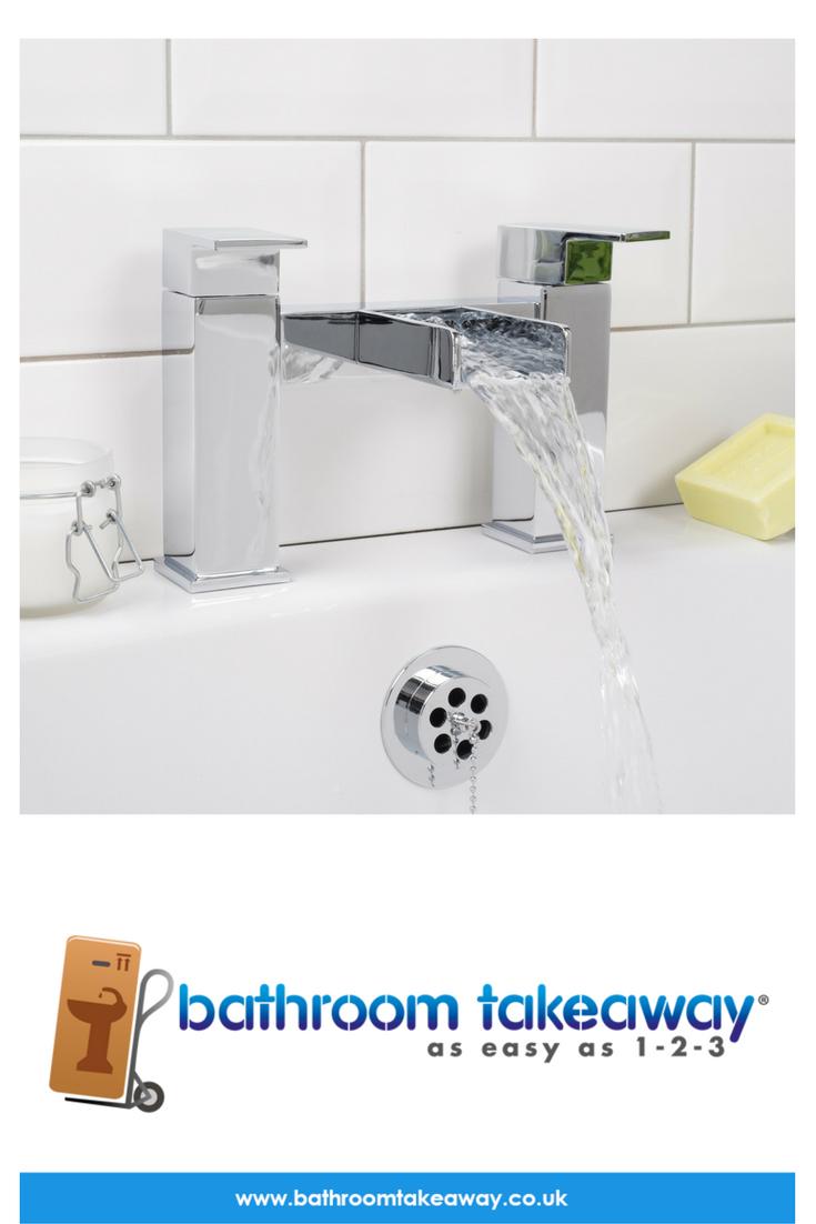 Relax Waterfall Bath Filler Mixer Tap | Mixer taps, Taps and Mixers