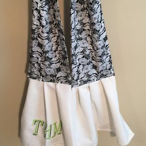Handy Functional Way To Keep Your Kitchen Towel Close By
