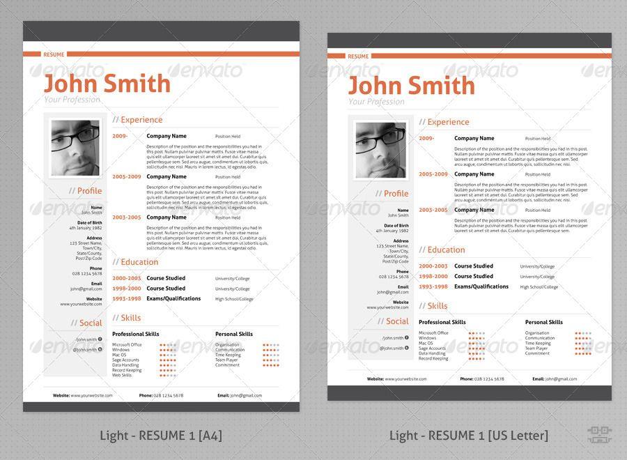 Curriculum Vitae Creativo Best Resume Format Professional Resume Samples Best Resume Template