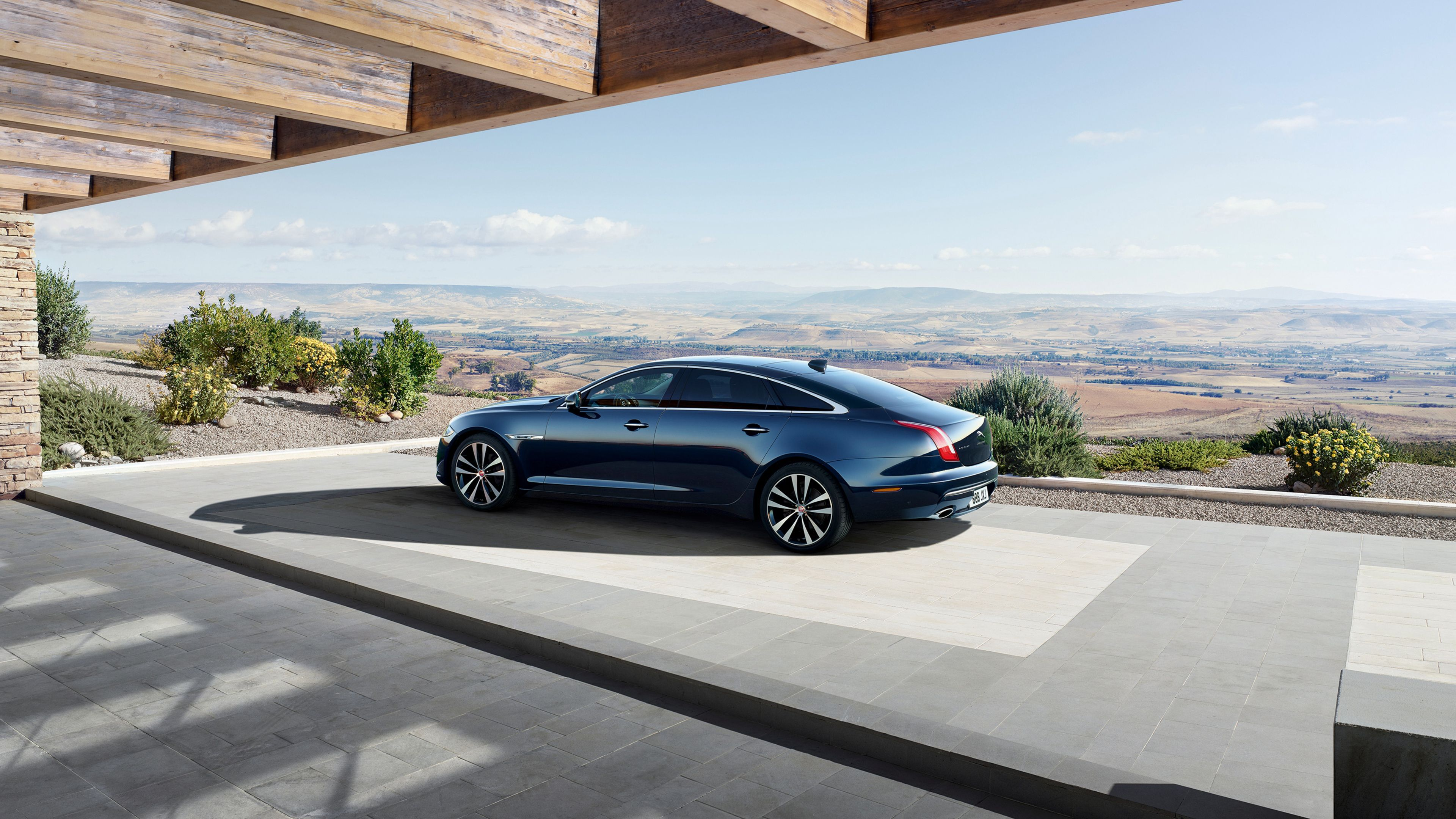 Wallpaper 4k 2018 Jaguar Xj50 Lwb Rear 2018 Cars Wallpapers 4k
