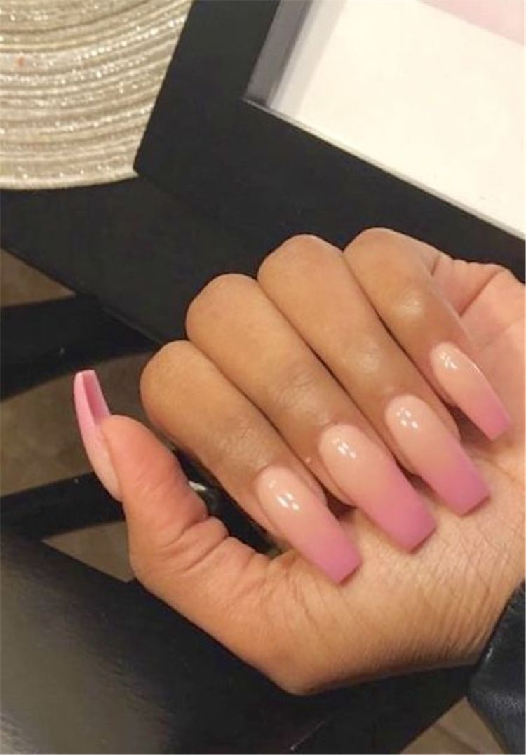 75 The Most Beautiful Ombre Acrylic Nails Designs You Ll Like