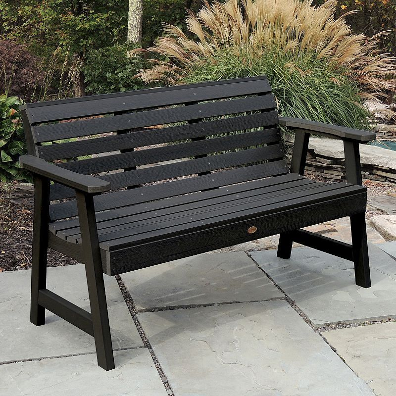 Pleasing Highwood Weatherly 5 Ft Garden Bench Products In 2019 Ncnpc Chair Design For Home Ncnpcorg