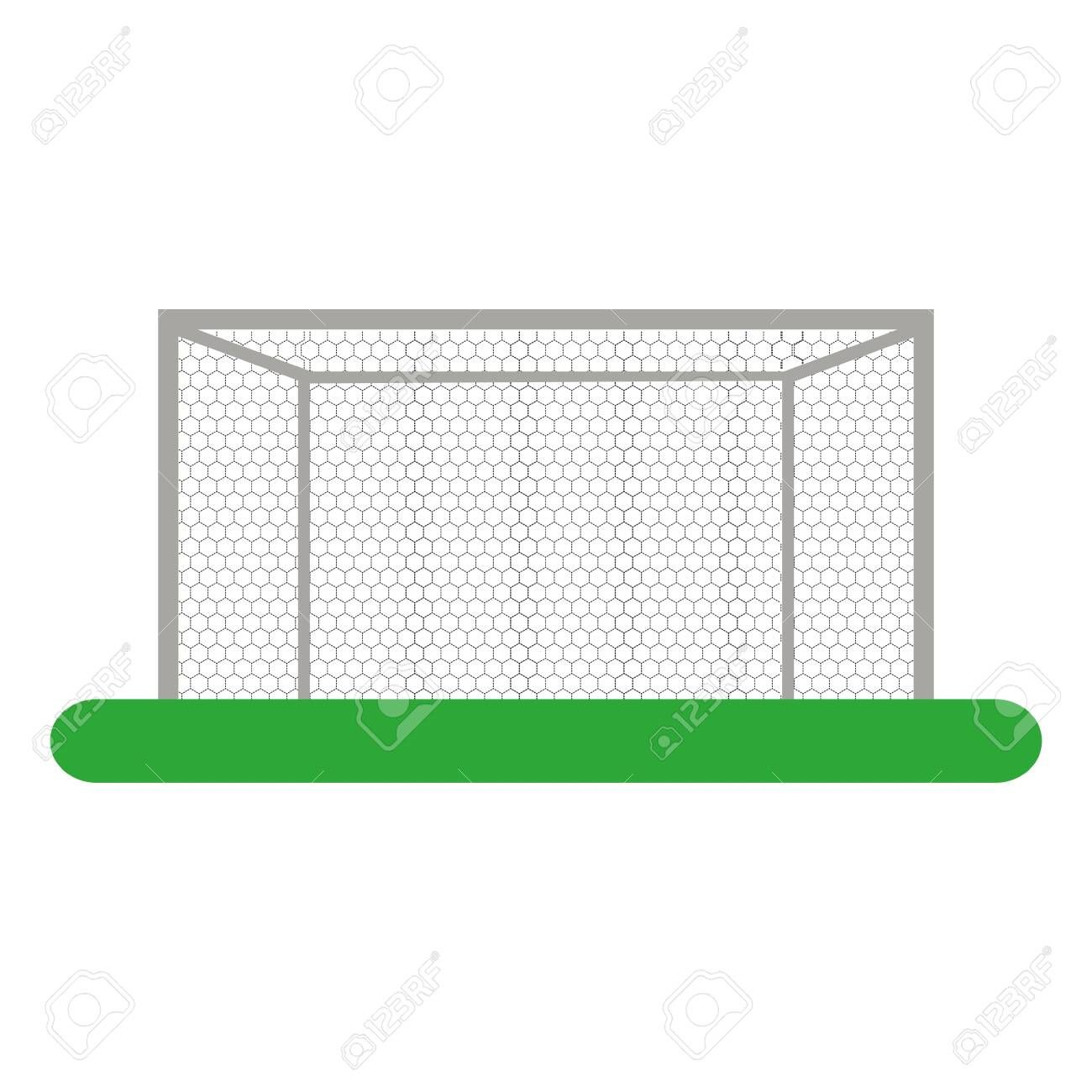 Soccer Goal Linear Icon Sport Icons Line Illustration Outline Drawings Paint Markers