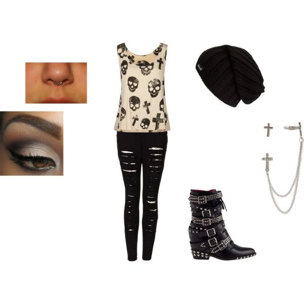 """Cute Punk outfit"" by breannaleighsloan on Polyvore ..."