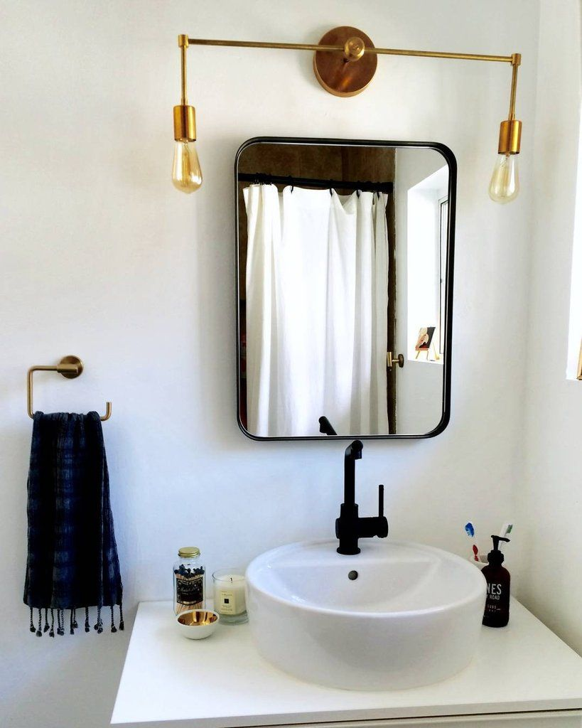 Photo of Magazine wall lamp with two lights