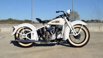 1937 Harley Davidson Knucklehead Vintage Harley Davidson Harley