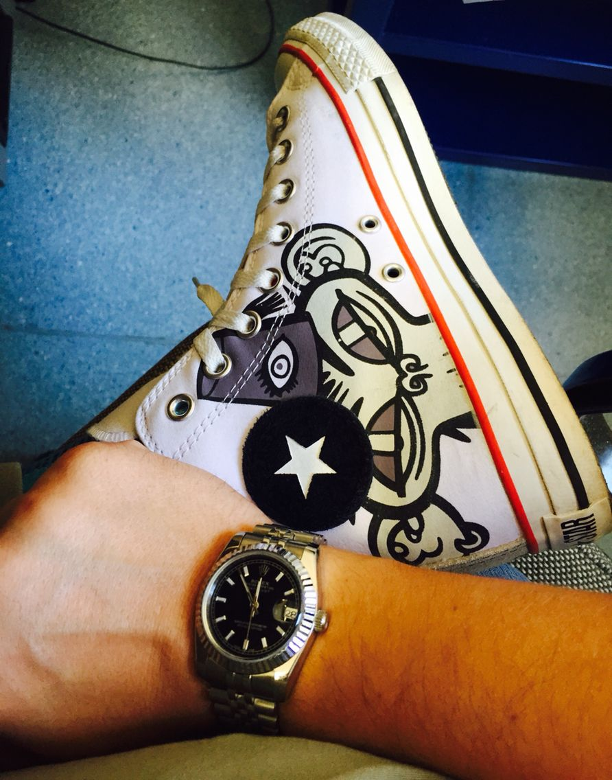 Rolex datejust converse gorillaz | Moda uomo, Style, Stile