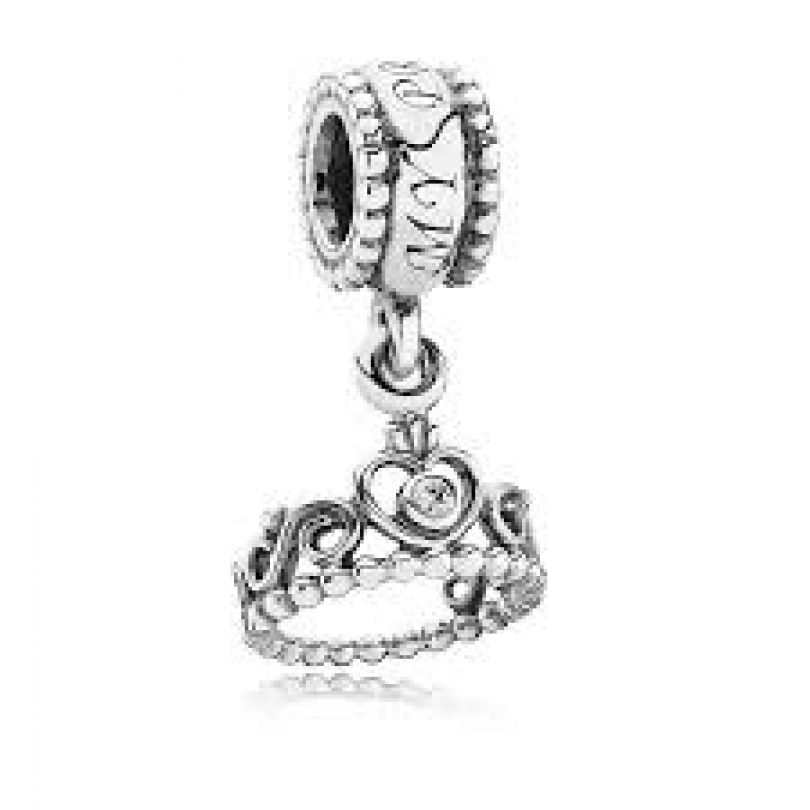 Pandora Sterling Silver Dangle My Princess