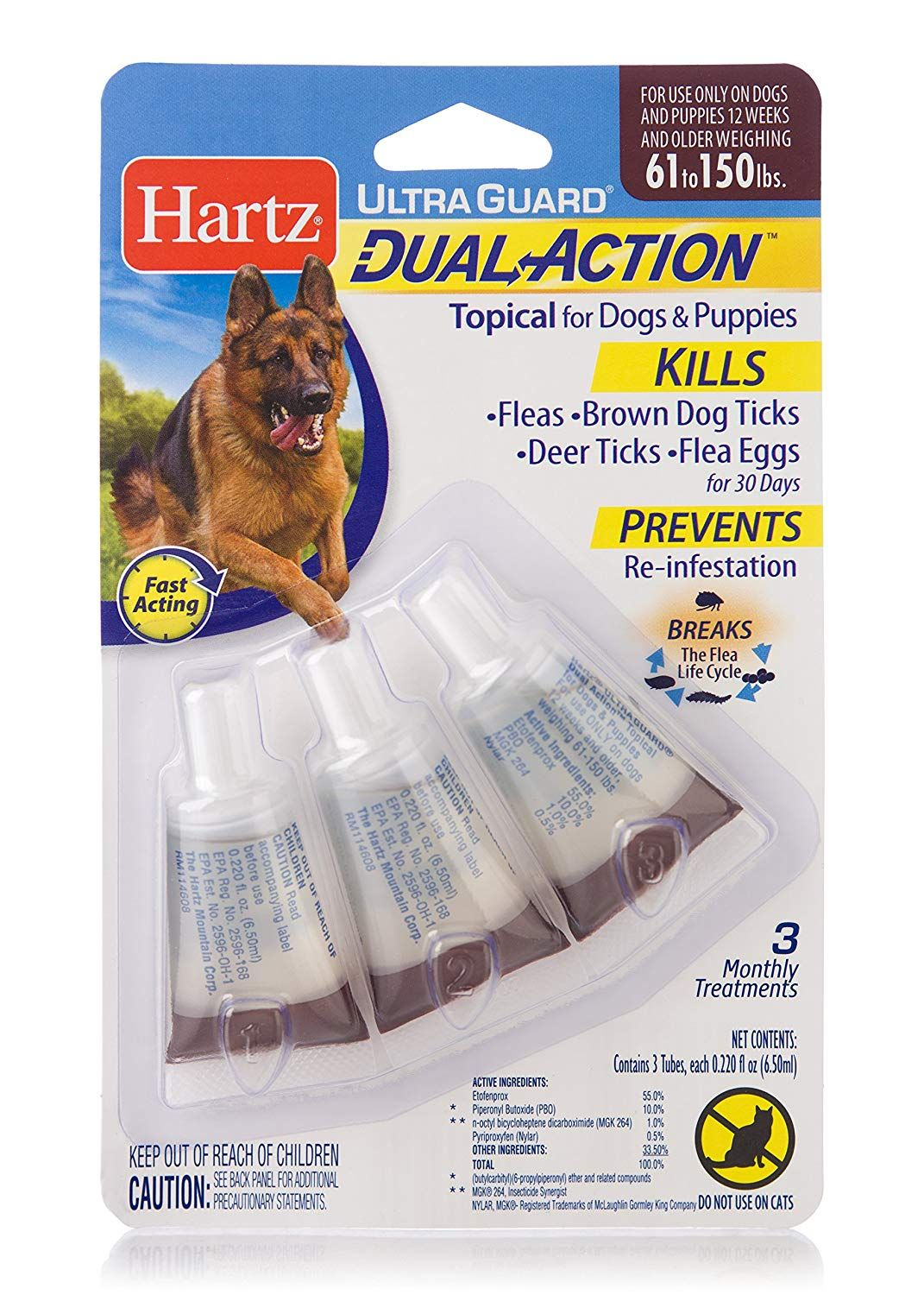 Hartz Ultra Guard Dual Action Drops For Dogs And Puppies Click Image To Review More Details This I Dogs And Puppies Brown Dog Tick Tick Treatment For Dogs