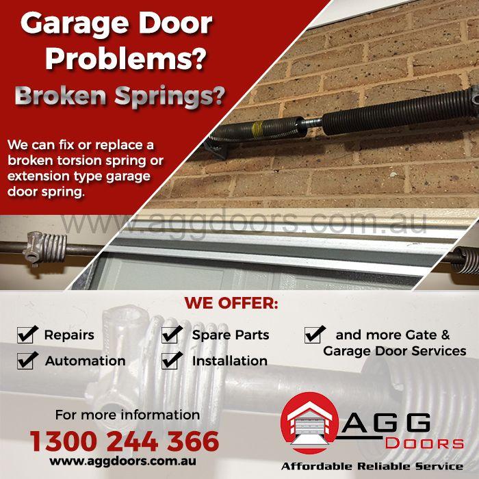 Gate And Garage Door Service Request Form Agg Doors Garage Service Door Garage Door Springs Garage Doors