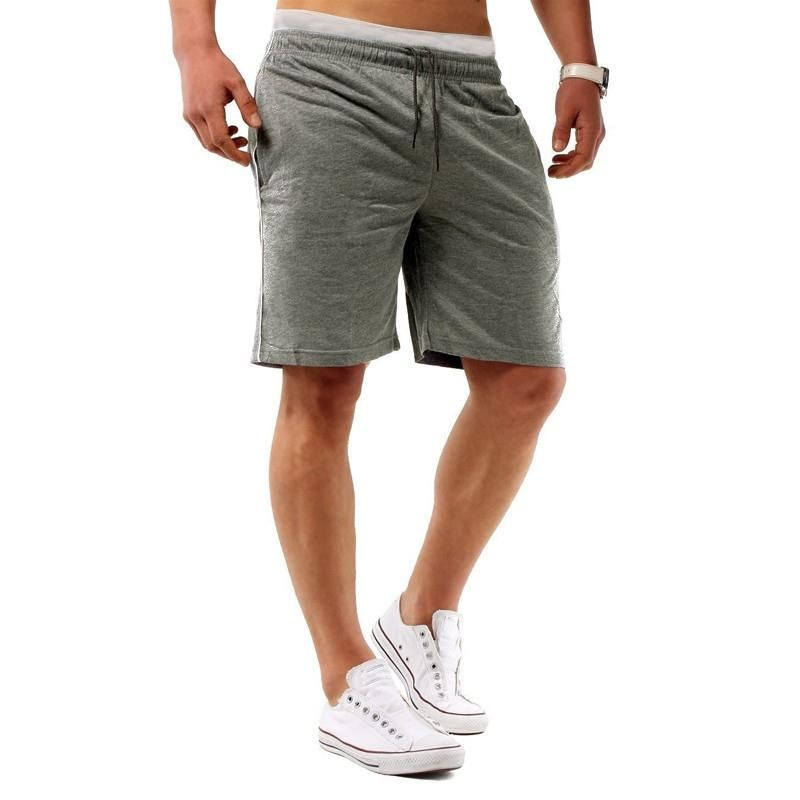 39534c934d23d1 Gender: Men Item Type: Shorts Pattern Type: Solid Length: Knee Length  Decoration: Pockets Style: Casual Waist Type: Mid Material:  Spandex,Polyester Pant ...