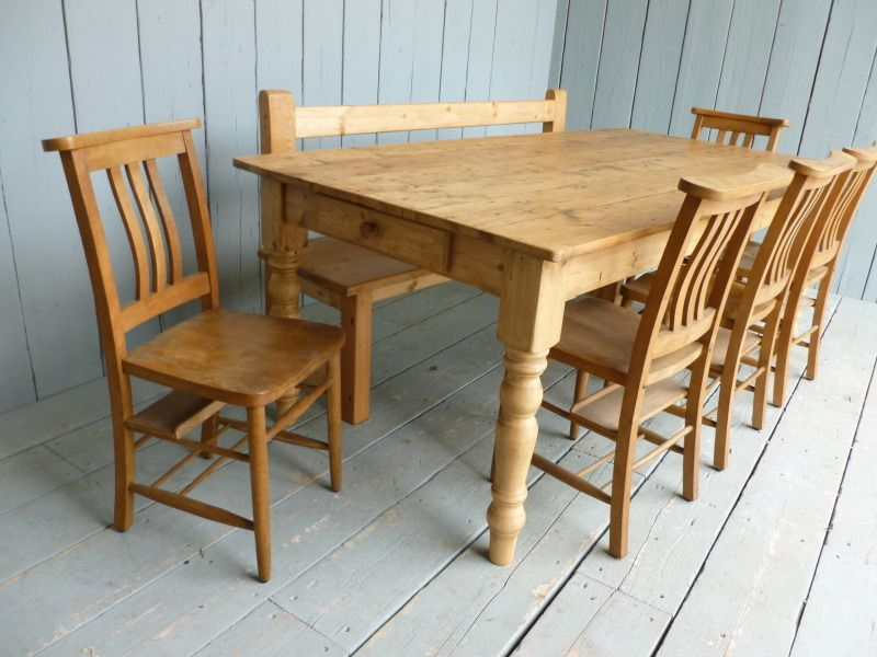 Pine Kitchen Bench Made From Antique Reclaimed Pine Kitchen Benches Farmhouse Kitchen Tables Pine Kitchen