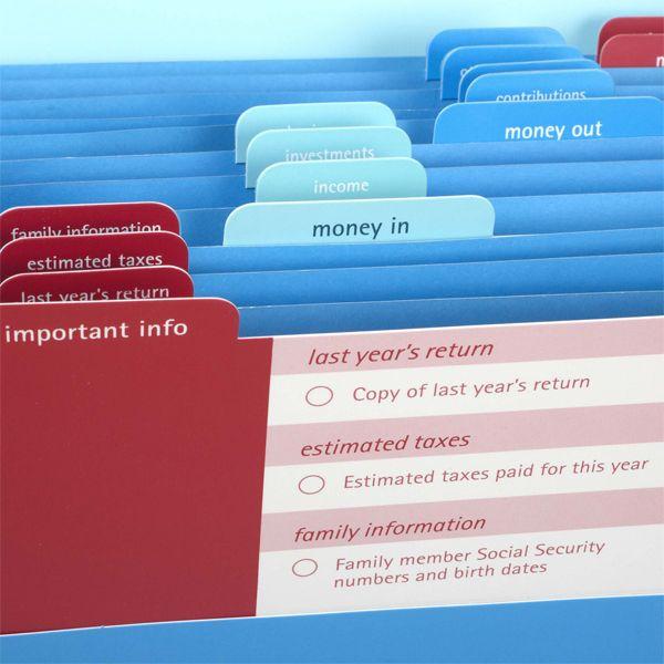 Office Organization Tips, Filer, Tax
