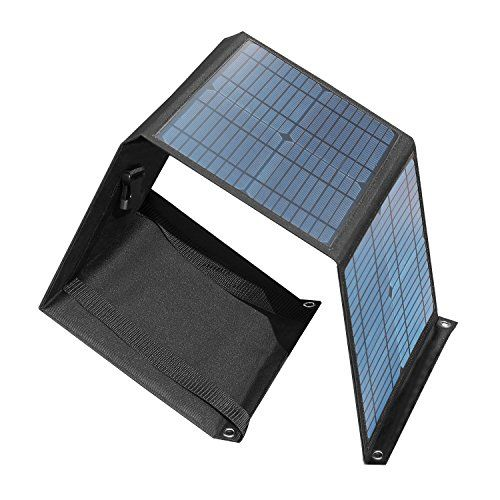 Chafon 40w 0 053hp Universal Folding Solar Panels Charger Https Www Amazon Com Dp B01n1flgqo Ref Solar Panel Charger Solar Charger Portable Solar Charger