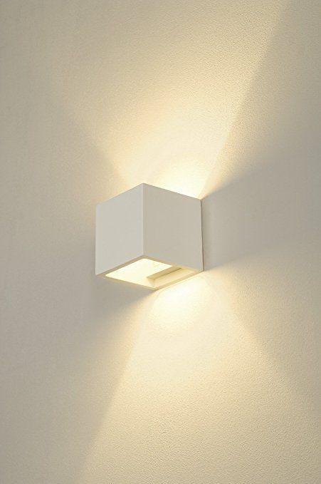 Slv Plastra Cube Wandleuchte Eckig Gips G9 Maximal 42 W Weiss 148018 Amazon De Beleuchtung Beleuchtung Dachschrage Dachlicht Beleuchtungsideen