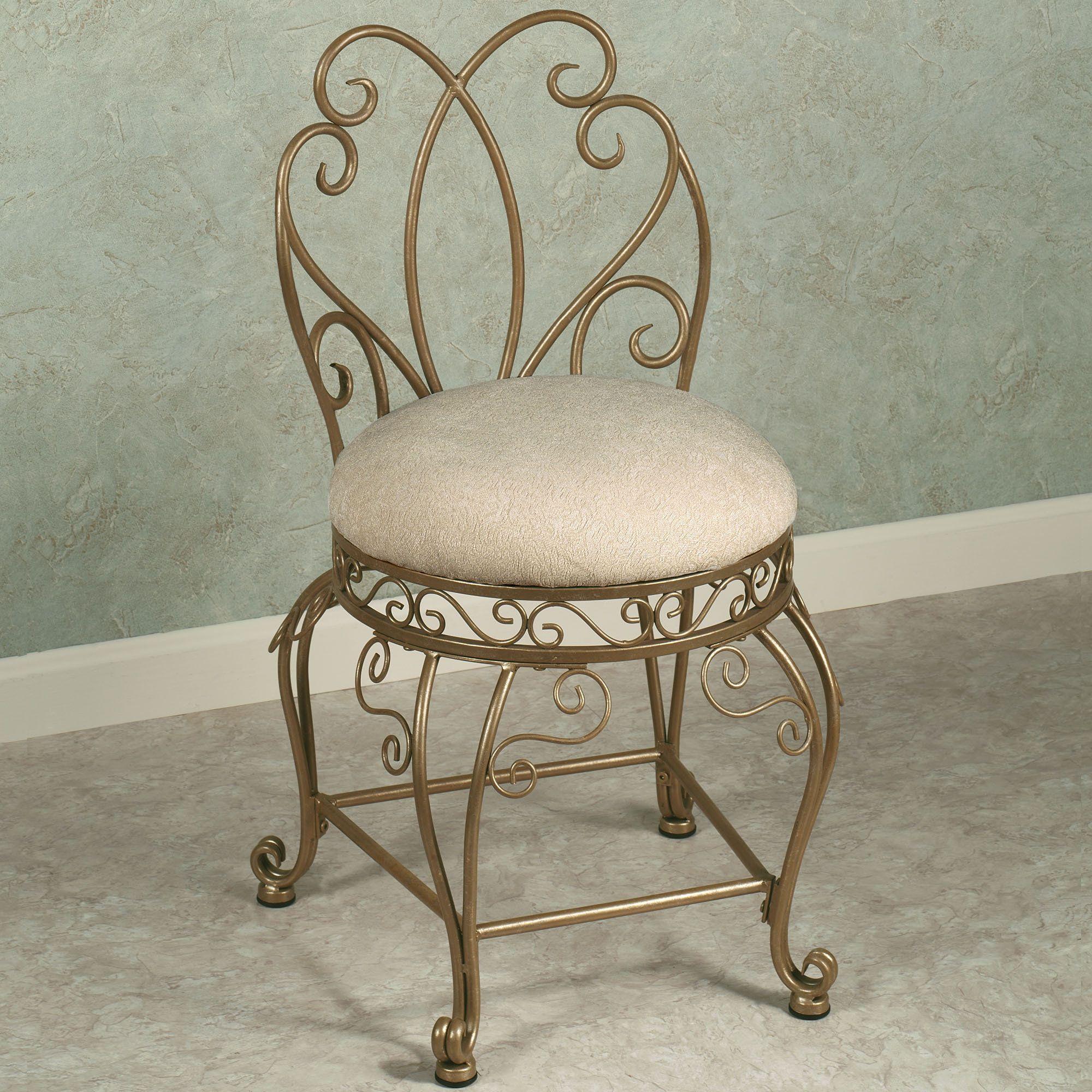 Gianna vanity chair vanity chair vintage chairs