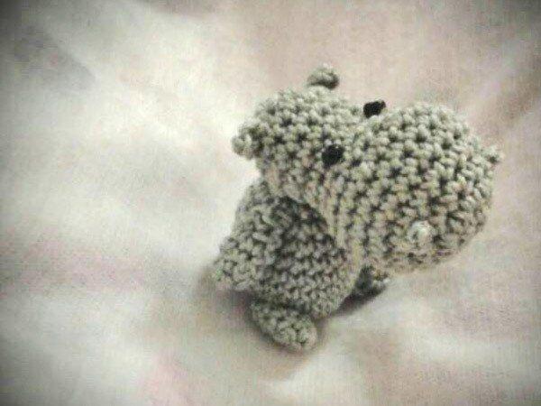 Free Book Mini Nilpferd Hippo Kostenlose Häkelanleitung Häkeln
