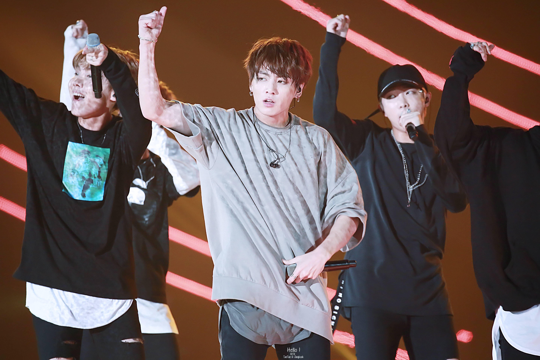 J-Hope, Jungkook and Rap Monster ❤ Pyeongchang Winter Olympics Concert #BTS #방탄소년단