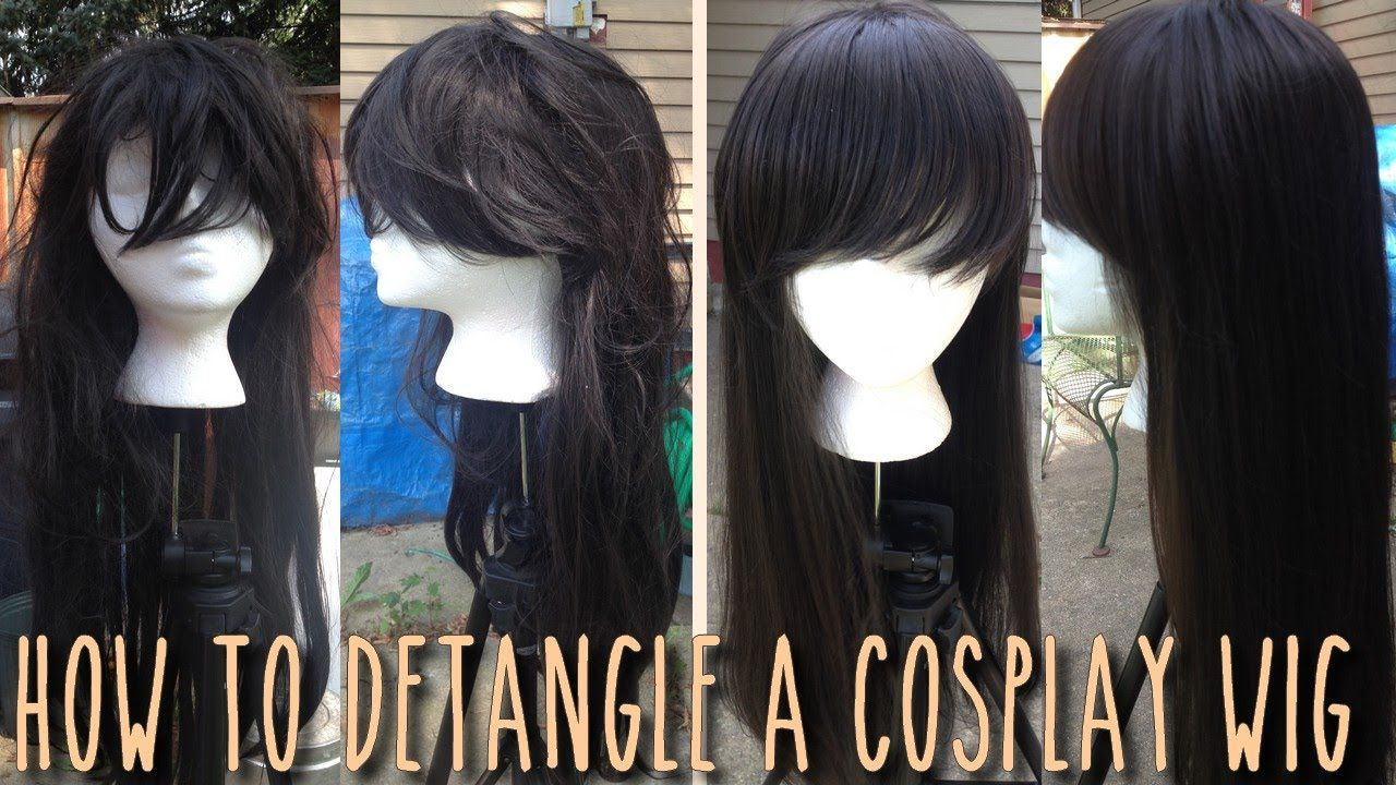 How to Detangle a Wig Cosplay Tips for Beginners