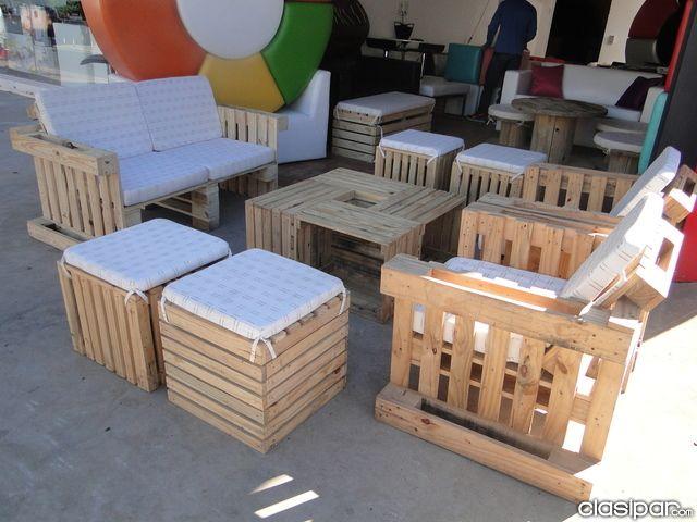 Muebles de palets en paraguay en asunci n muebles para - Muebles de palets ...