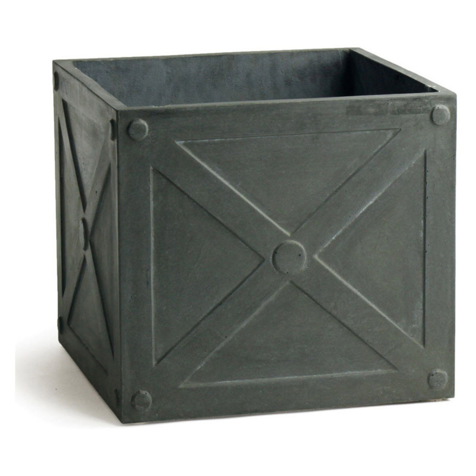 Napa Home and Garden Fiberclay Box Planter (With images