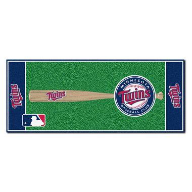 "Minnesota Twins Baseball Runner Rug 30"""" x 72"""""