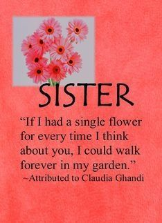 morning sister quotes