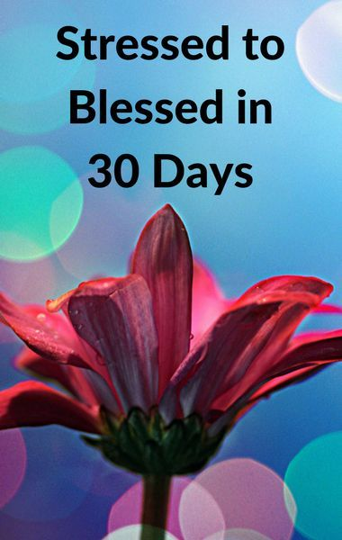 Dr oz blessed 30 day challenge