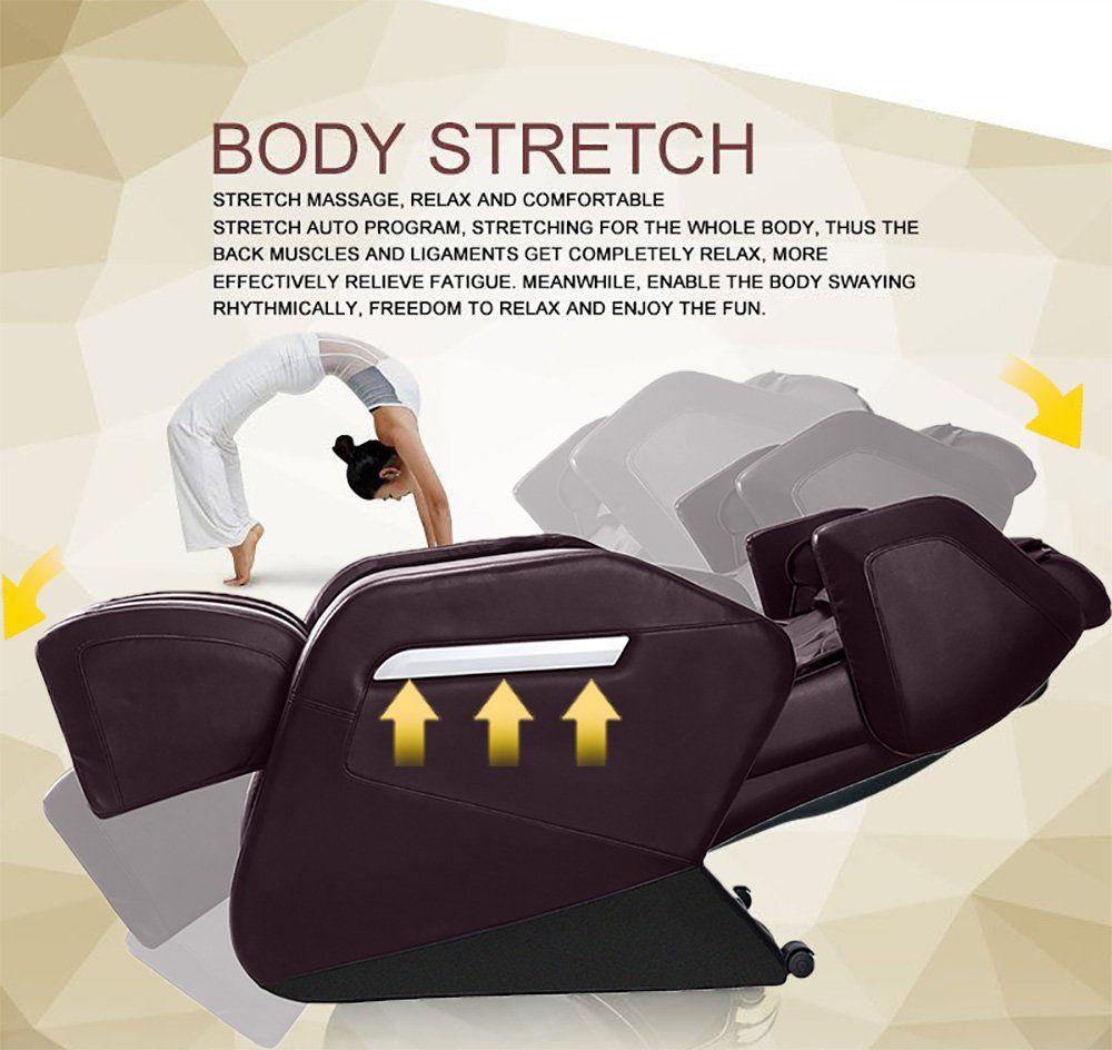 Full body massage chair zero gravity and air massage foot