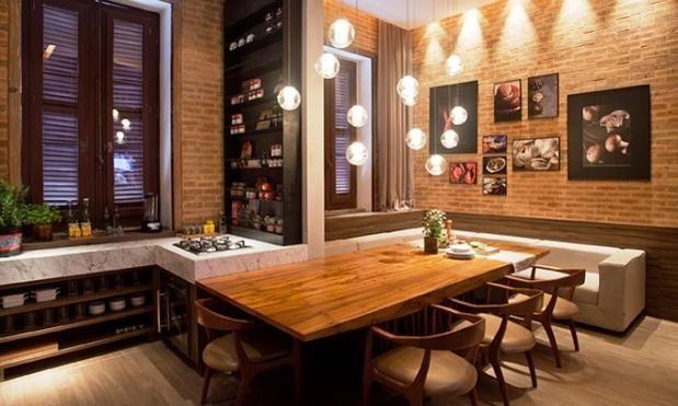 Tijolos/cozinha
