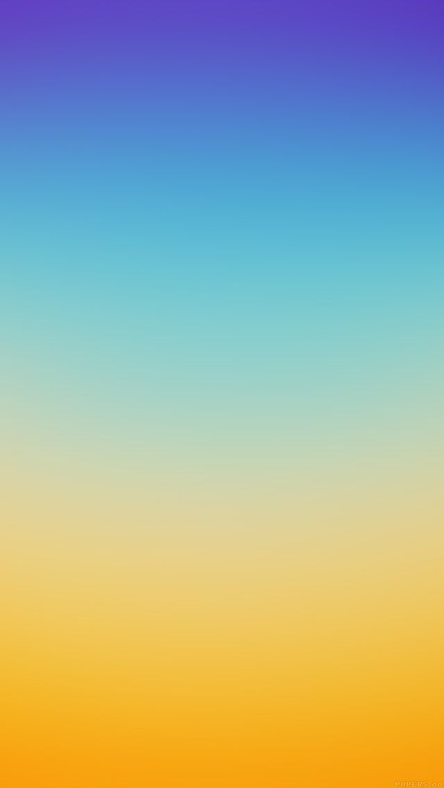 Iphone Wallpaper Ombre Blue And Yellow