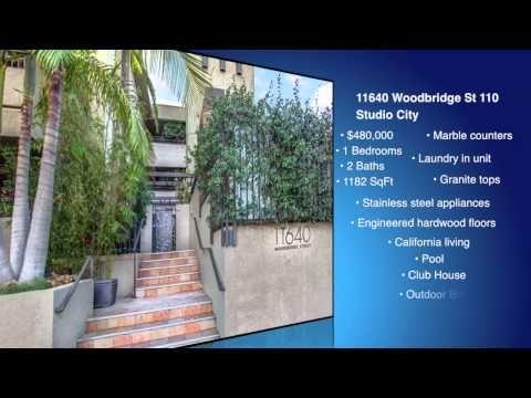 For Sale: 1 Bed 2 Bath condo in Studio City for $480000