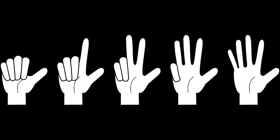 Nueva Version De Cartas Los Numeros En Nuestros Dedos Dedos De La Mano Mano Para Colorear Nombres De Los Dedos