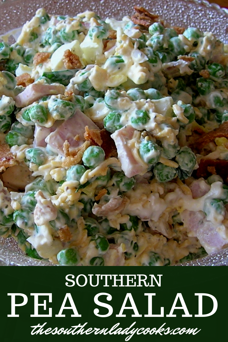 Photo of SOUTHERN PEA SALAD-THE SOUTHERN LADY COOKS