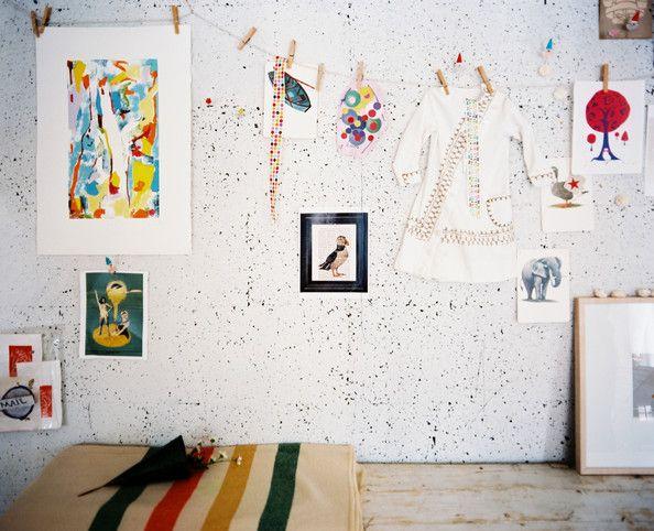 Anticipate The Future Modern Kids Room Painting Corkboard Cork