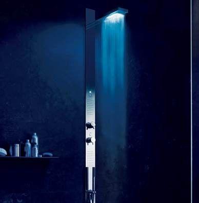 colonne de douche lumineuse a led