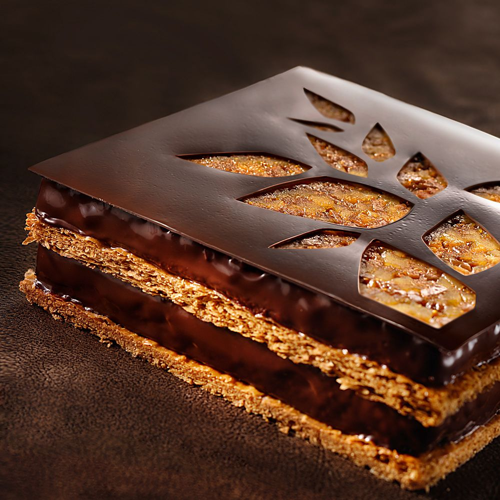 mille feuille chocolat perfect pastry pinterest