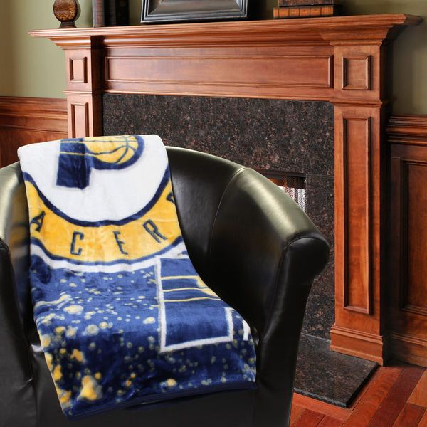 "Indiana Pacers 50"" x 60"" Plush Blanket - $34.99"