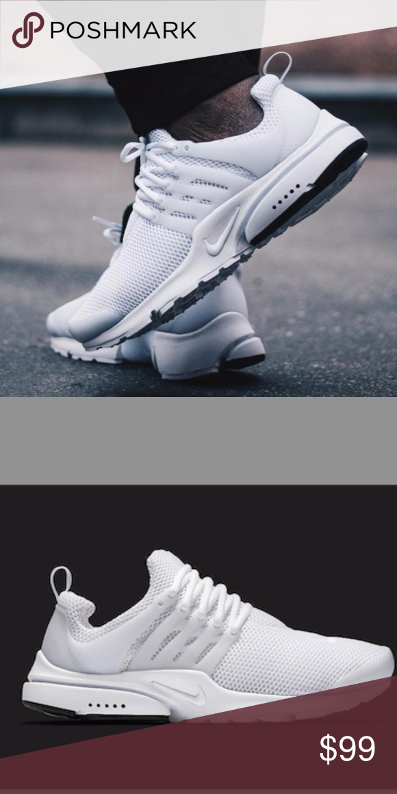 big sale 9eeff e1048 Women s Nike Air Presto (Size 9) Brand new with original Box Excellent  Condition 100% authentic Women s Size 9 Triple white Color way  This item  Ships ...