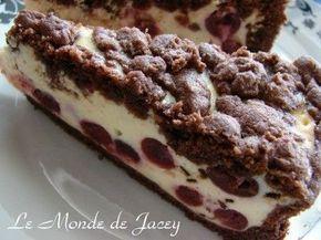 Quark and cherry cake - Le Monde de Jacey - Tunisian cuisine - #cherry #cuisine #jacey #monde #quark #tunisian - #PumpkinPieCheesecakeRecipeEasy
