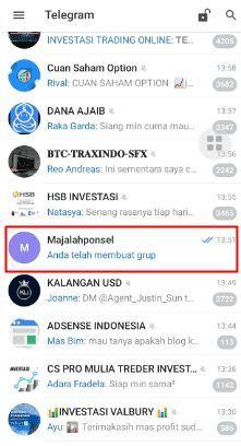 menghapus grup di telegram